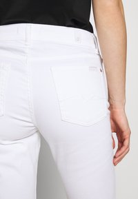 7 for all mankind - THE STRAIGHT - Straight leg jeans - white - 4