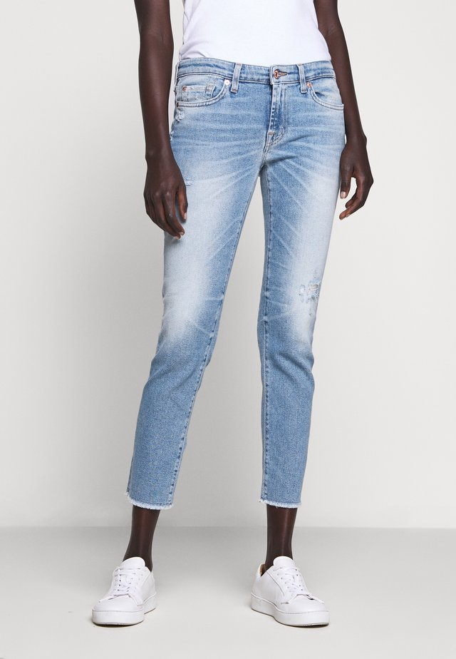 PYPER CROP LUXVINBLUEYEDIS - Jeans Slim Fit - light blue