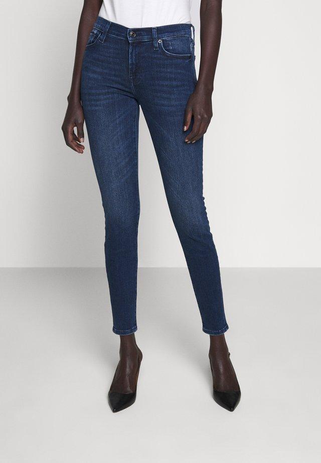 SLIILLINT - Jeansy Skinny Fit - dark blue