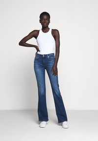 7 for all mankind - Jeans Bootcut - mid blue - 1