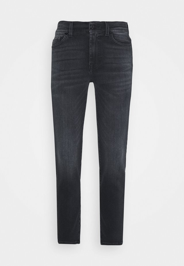 ROXANNE ANKLE - Jeansy Straight Leg - dark blue