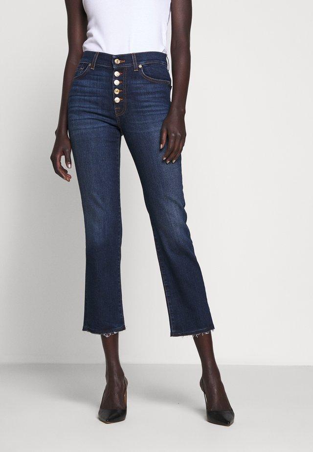 THE CROP - Jeans straight leg - dark blue