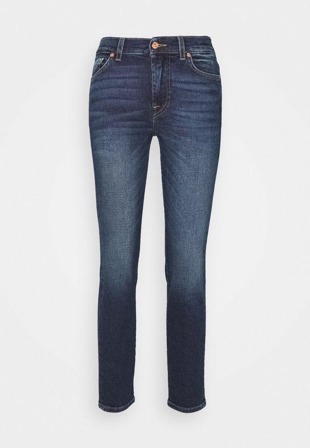 ROXANNE ANKLE - Jeans Straight Leg - dark blue