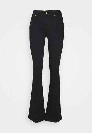 LUXURIOUS RINSE - Bootcut jeans - black