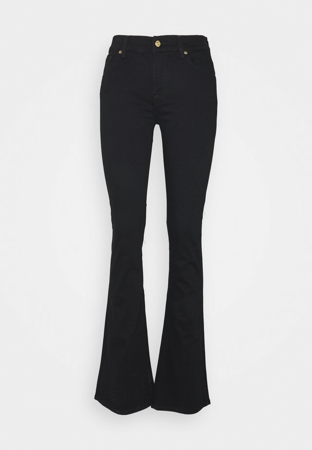 LUXURIOUS RINSE - Jean bootcut - black