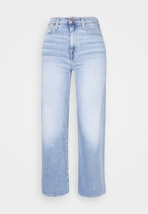 CROPPED ALEXA - Flared Jeans - blue eyes
