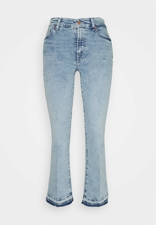 CROPPED BOOT UNROLLED - Jeans bootcut - pier