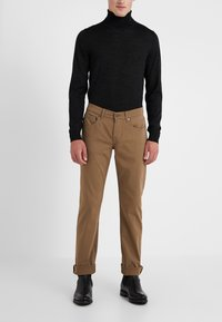 7 for all mankind - SLIMMY LUXE PERFORMANCE  - Stoffhose - beige - 0