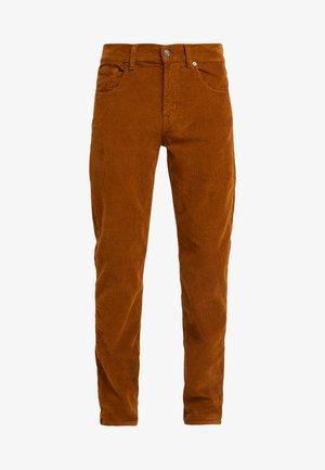 SLIMMY  - Spodnie materiałowe - tobacco