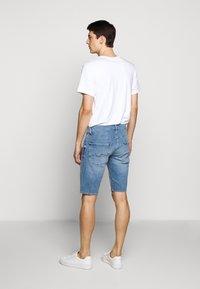 7 for all mankind - REGULAR HEMET - Shorts vaqueros - light blue - 2