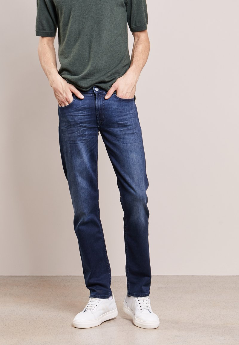 7 for all mankind - SLIMMY  - Jeans Slim Fit - dunkelblau