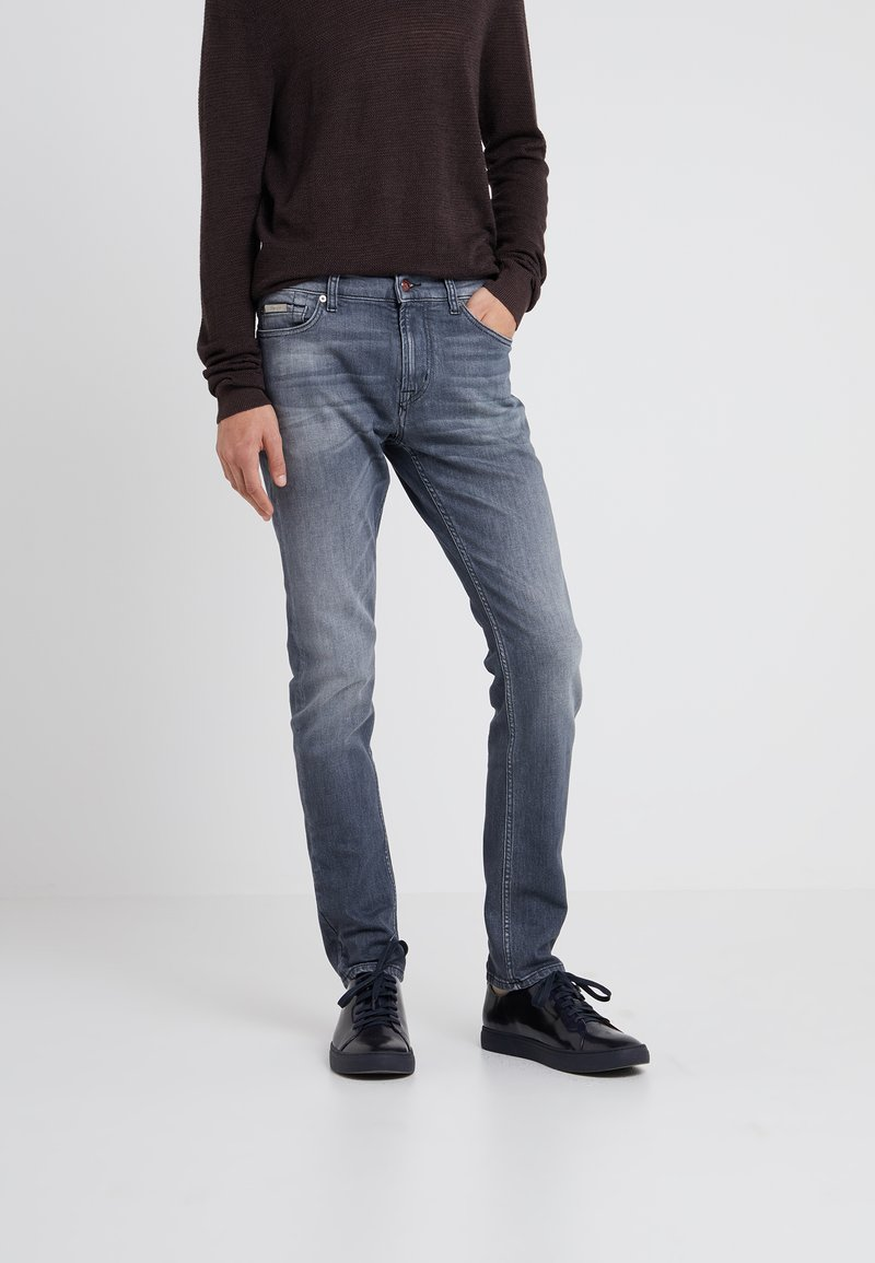 7 for all mankind - RONNIE - Jeans slim fit - grey