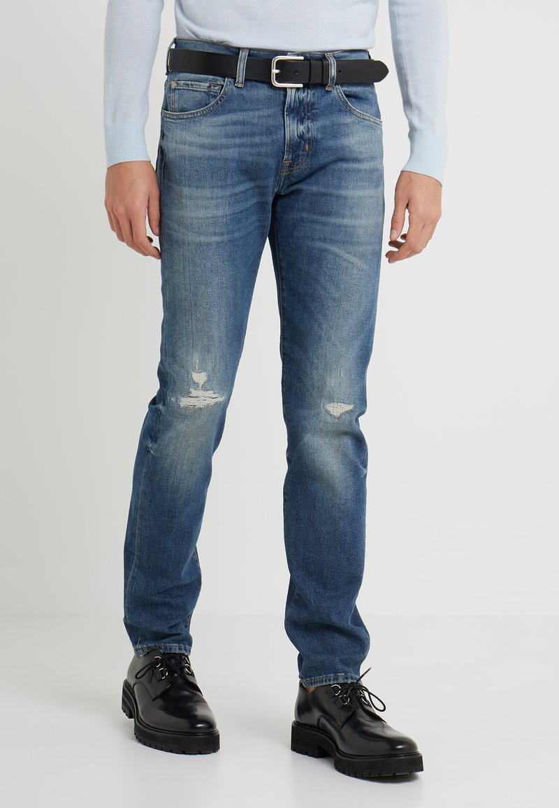 7 for all mankind - KAYDEN - Straight leg jeans - mid blue