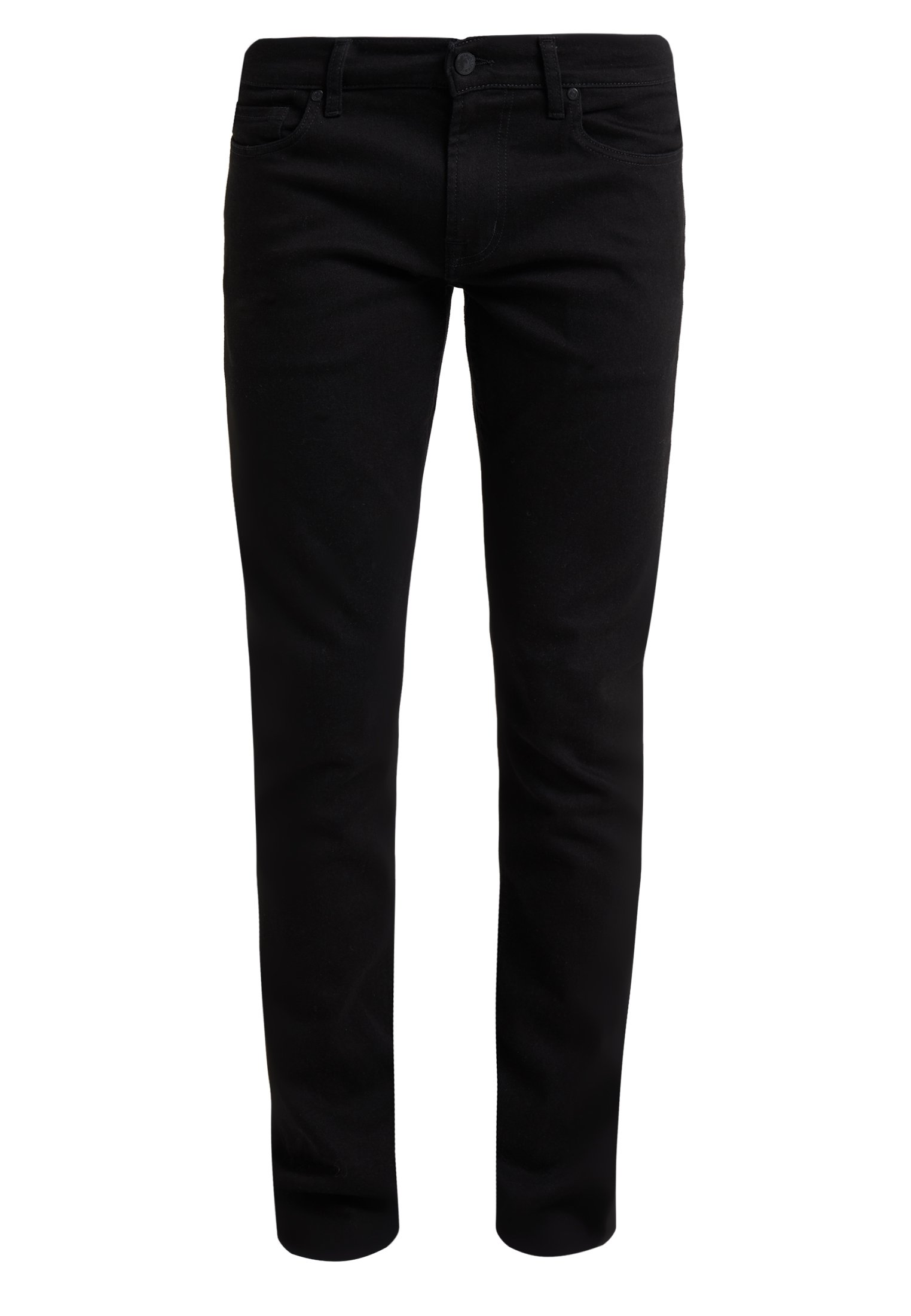 7 For All Mankind Ronnie Luxe Performance - Slim Fit -farkut Rinse Black