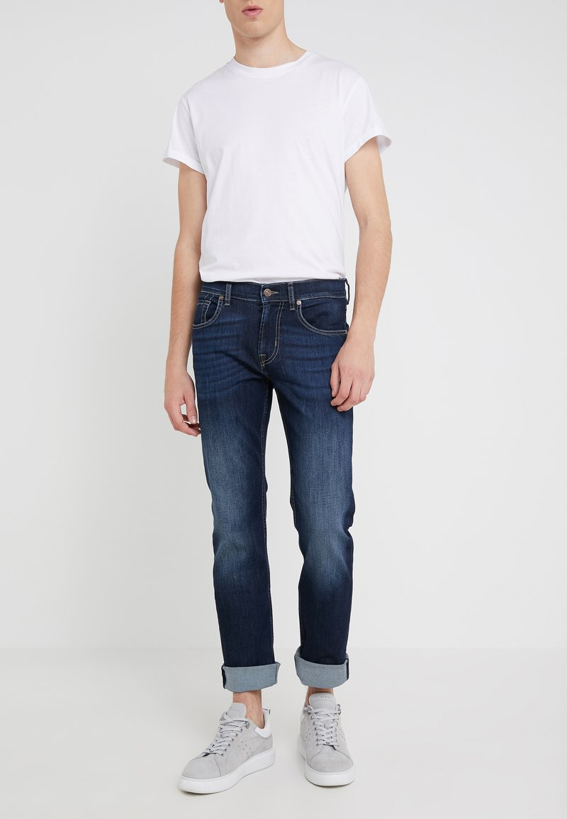 7 for all mankind - MY MID USED - Slim fit jeans - dark blue