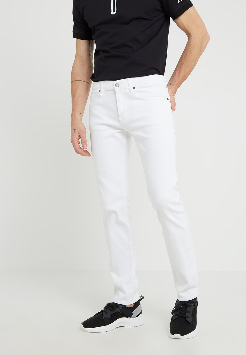 7 for all mankind - KAYDEN LUXE PERFORMANCE - Straight leg jeans - white