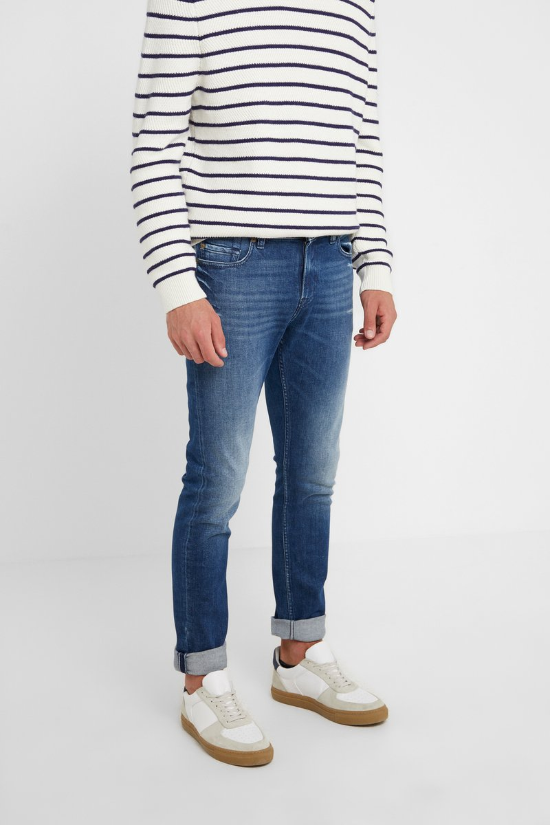 7 for all mankind - RONNIE BLUNCH - Jeans Slim Fit - dark blue