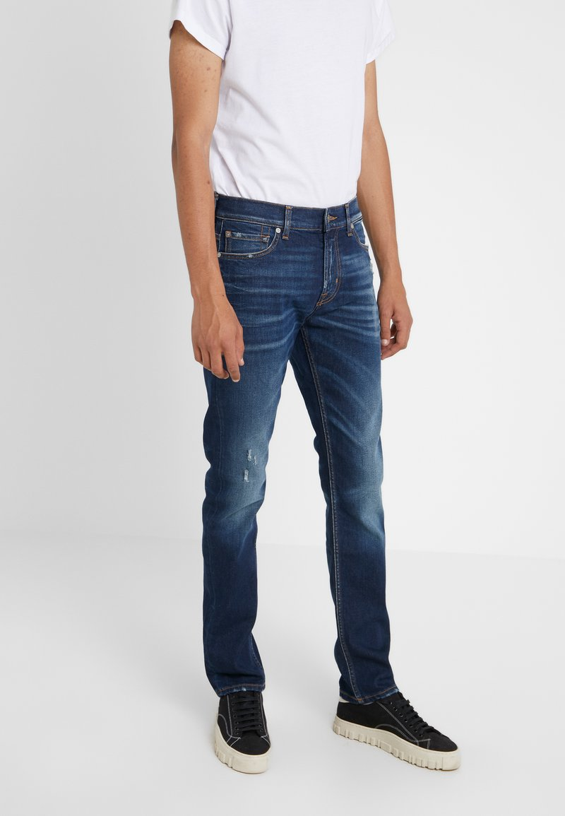 7 for all mankind - RONNIE CLARENDON - Jeans Slim Fit - dark blue
