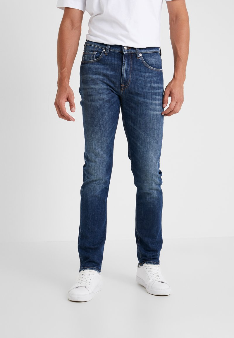 7 for all mankind - KAYDEN SOUNDTRACK - Jeans Straight Leg - mid blue