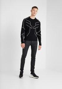 7 for all mankind - RONNIE AMNESIAC - Slim fit jeans - black - 1
