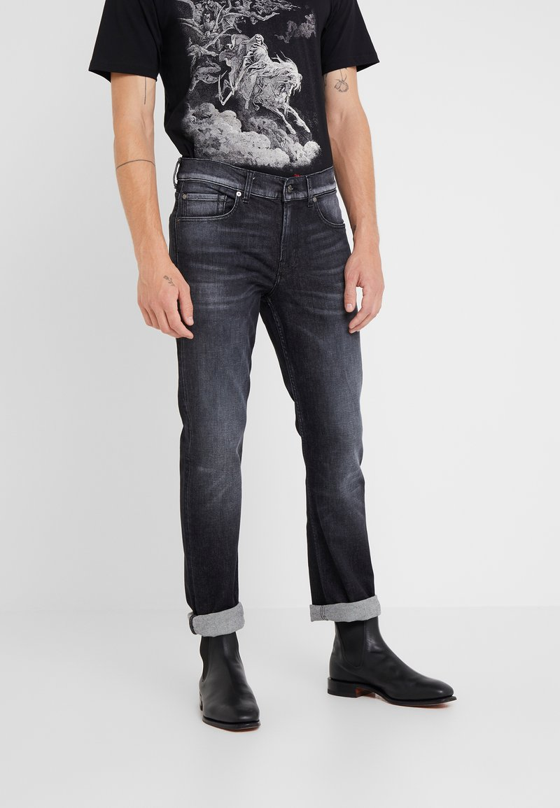 7 for all mankind - PORTRAY - Slim fit jeans - black