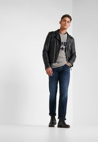 7 for all mankind - SLIMMY GRUVER - Jeans straight leg - dark blue - 1