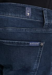 7 for all mankind - SLIMMY GRUVER - Jeans straight leg - dark blue - 5