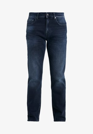 SLIMMY GRUVER - Jeansy Straight Leg - dark blue