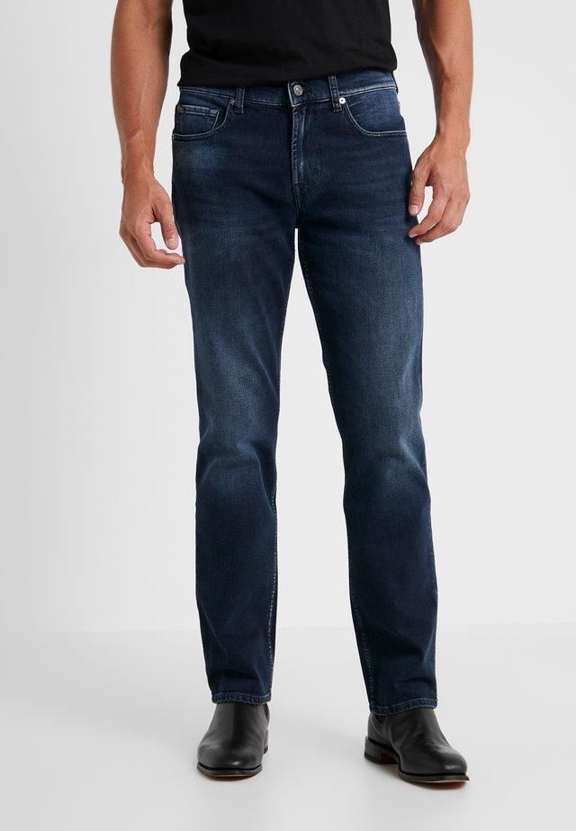SLIMMY GRUVER - Straight leg jeans - dark blue