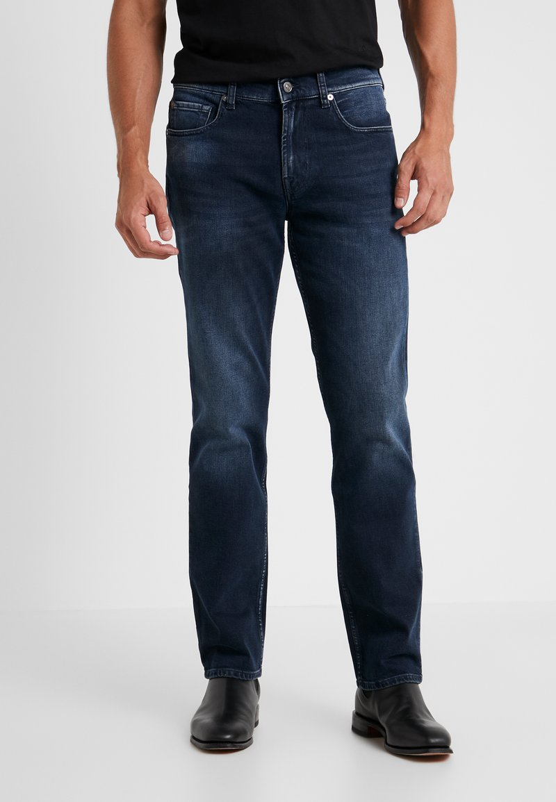 7 for all mankind - SLIMMY GRUVER - Jeans straight leg - dark blue