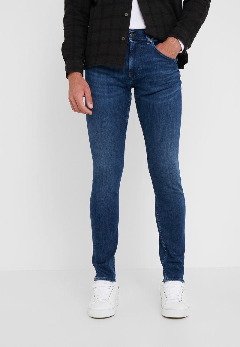 7 for all mankind - EVANT - Jeans Slim Fit - dark blue