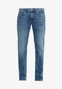 7 for all mankind - SLIMMY - Jean slim - mid blue - 4