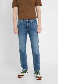7 for all mankind - SLIMMY - Jean slim - mid blue - 0