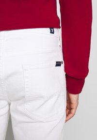 7 for all mankind - SLIMMY - Slim fit jeans - white - 5
