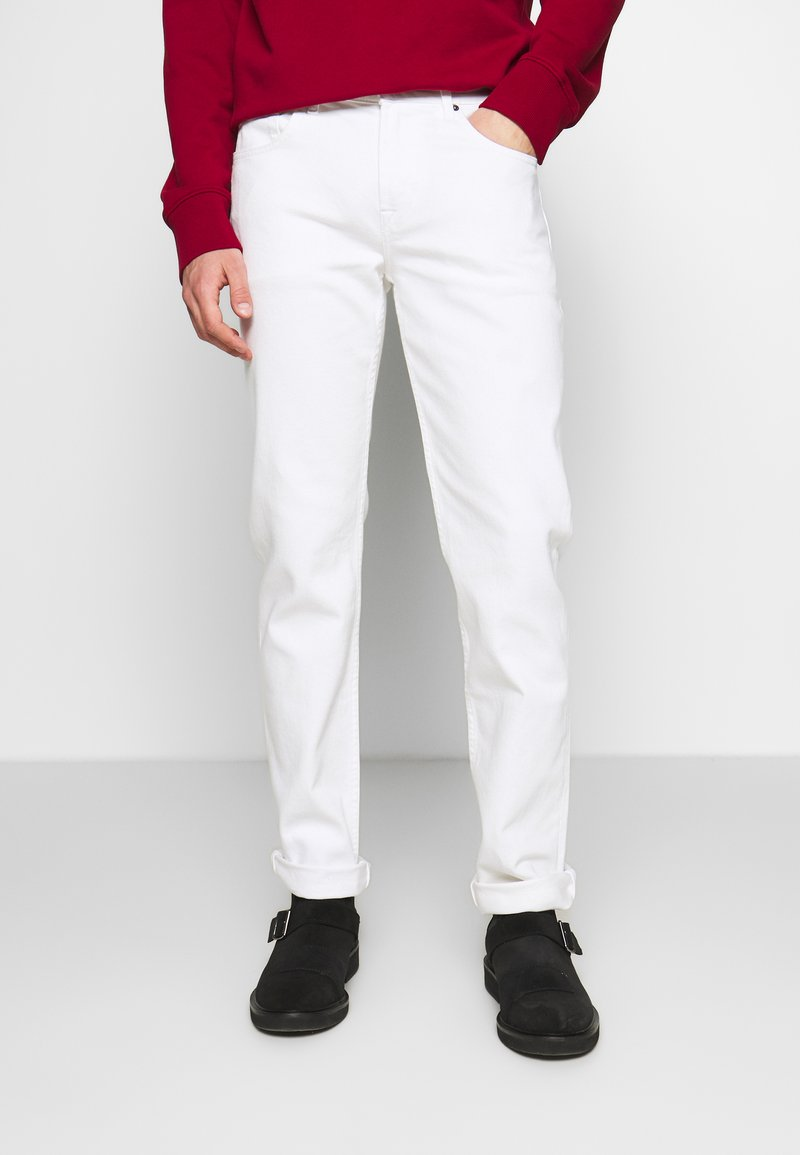 7 for all mankind - SLIMMY - Slim fit jeans - white