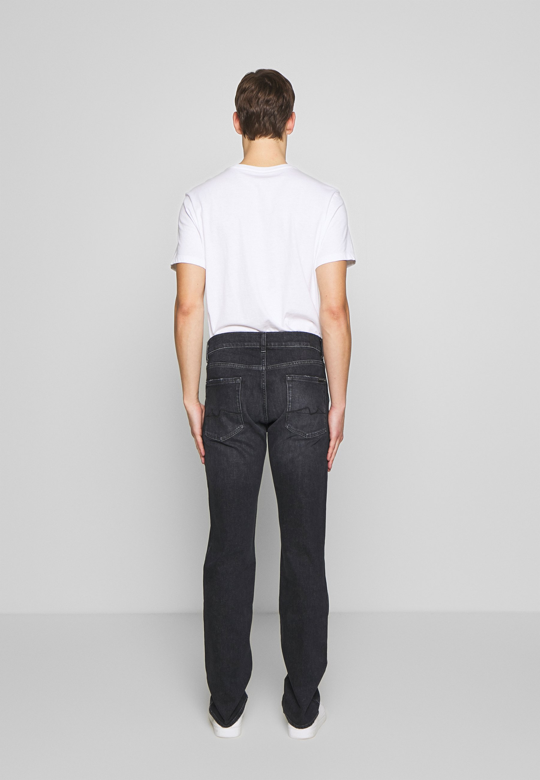 7 For All Mankind Slimmy - Slim Fit Jeans Washed Black