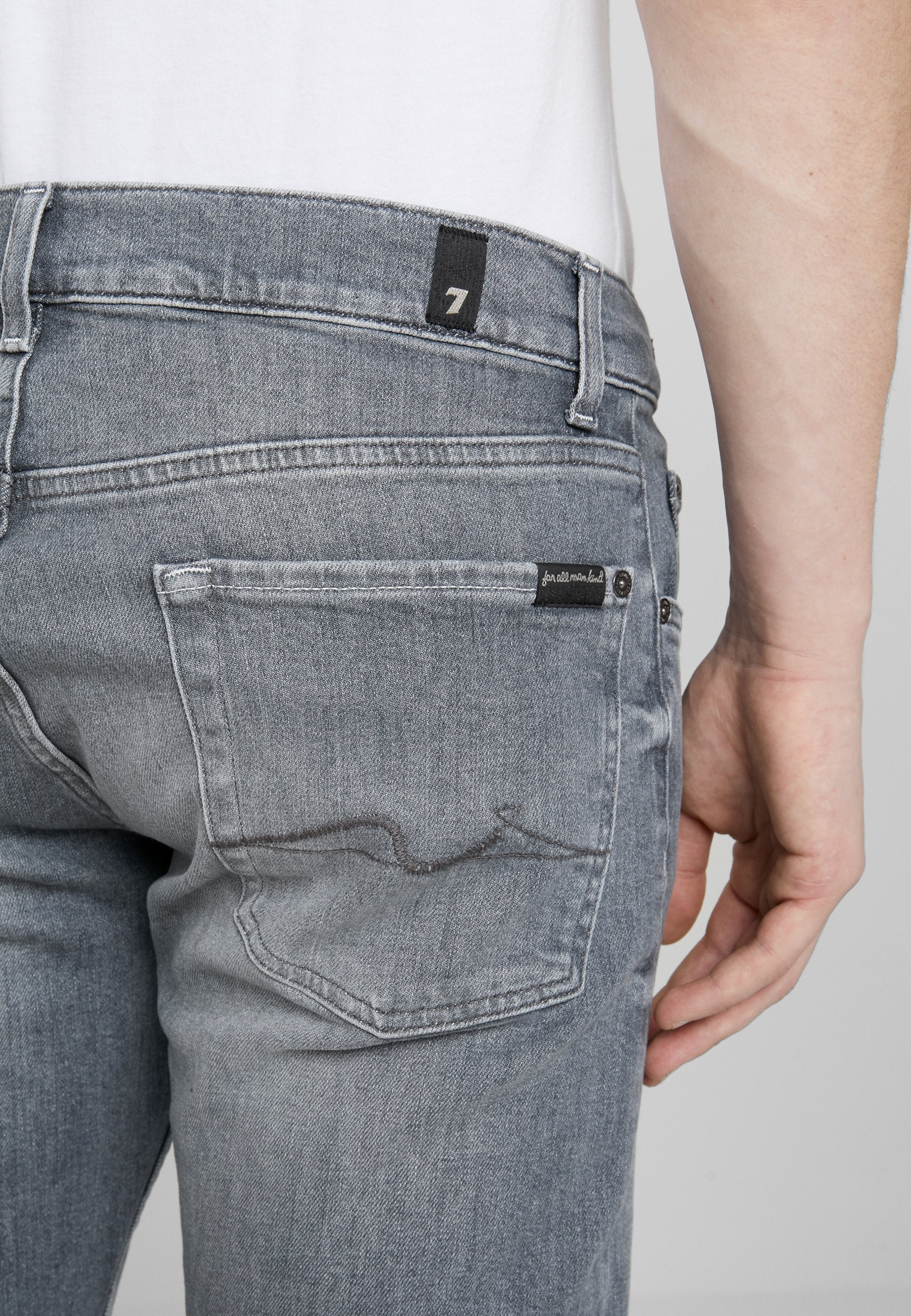 7 For All Mankind Slimmy - Jeans Slim Fit Grey