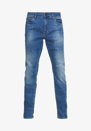 RONNIE LUX - Džíny Slim Fit - mid blue