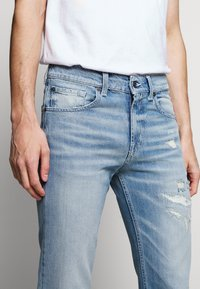 7 for all mankind - BEVERLY - Vaqueros slim fit - light blue - 3