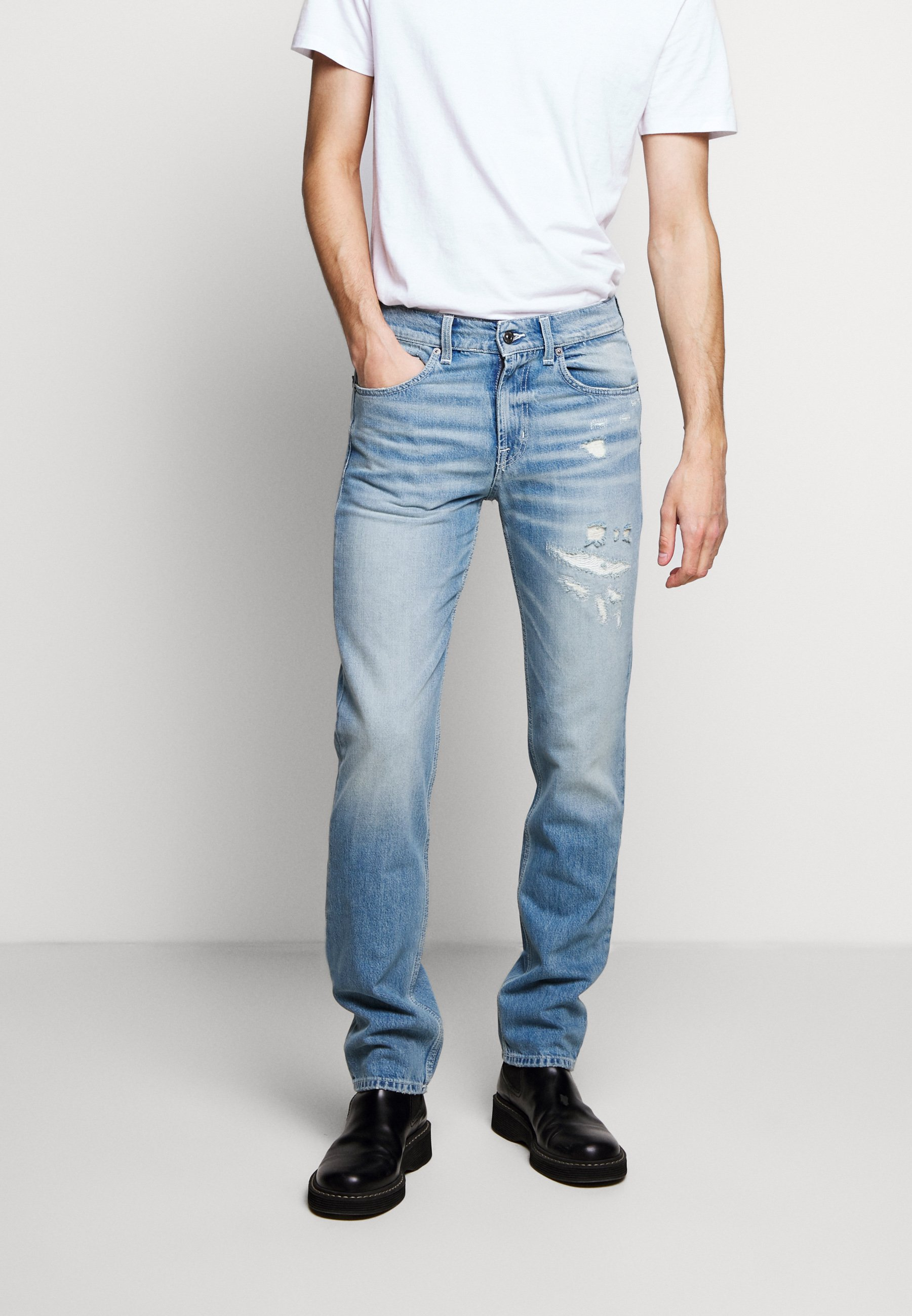 7 For All Mankind Beverly - Jean Slim Light Blue