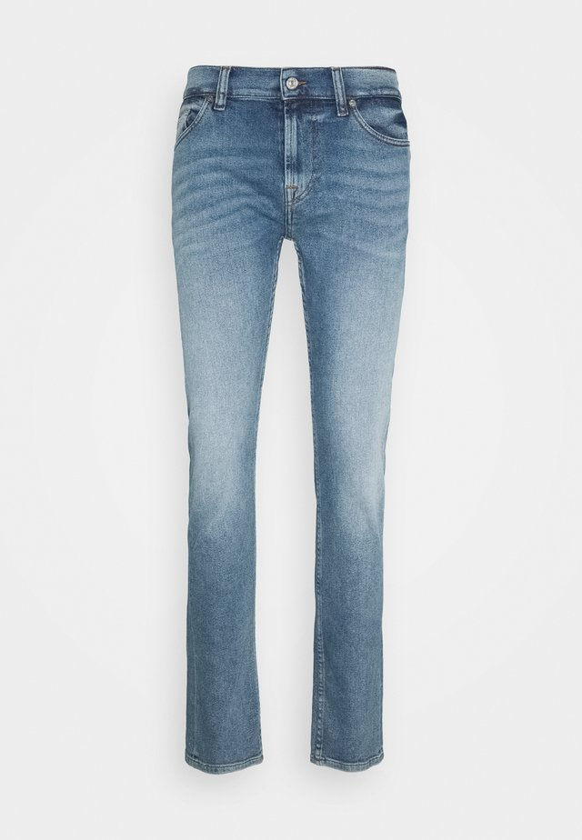RONNIE - Jeansy Slim Fit - mid blue