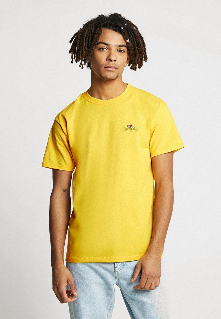 Fruit of the Loom - MENS CLASSIC SMALL CLUSTER FRONT - T-Shirt basic - sunflower