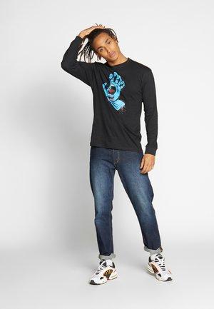 SANTA CRUZ UNISEX SCREAMING HAND LONGLSEEVE TEE - Camiseta de manga larga - black