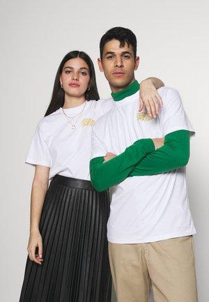 UNISEX VORTEX HAND - T-Shirt print - white