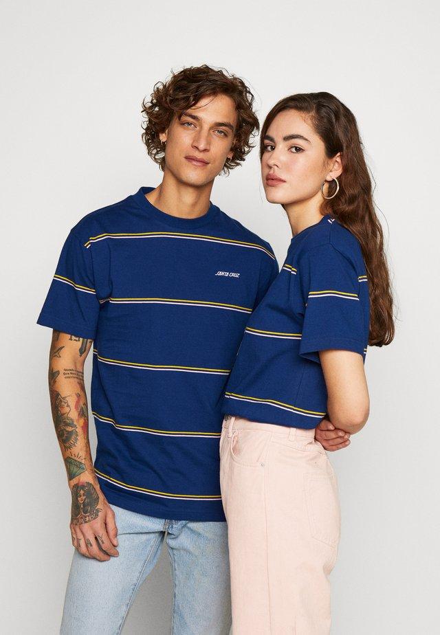 UNISEX PIER - T-shirts print - dark navy