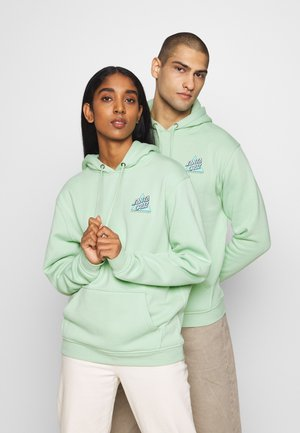 UNISEX NOT A DOT HOOD - veste en sweat zippée - mint