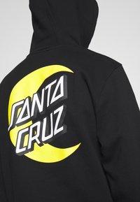 Santa Cruz - MOON DOT - Hoodie - black - 4