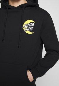 Santa Cruz - MOON DOT - Hoodie - black - 7