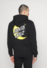 Santa Cruz - MOON DOT - Hoodie - black - 2