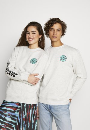 SANTA CRUZ UNISEX OTHER JAPANESE DOT CREW - Sweatshirt - athletic heather